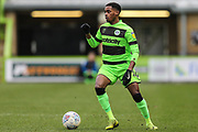 Forest Green Rovers Reece Brown(10) during the EFL Sky Bet League 2 match between Forest Green Rovers and Carlisle United at the New Lawn, Forest Green, United Kingdom on 16 March 2019.