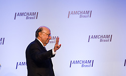 June 23, 2017 - On Friday morning (23), the Brazilian Finance Minister, Henrique Meirelles, participated in the seminar ''The Resumption of Growth: Credit Alternatives and Capital'' at the Amcham (American Chamber of Commerce) in the south zone of São Paulo  (Credit Image: © Marcelo Chello/CJPress via ZUMA Wire)