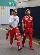 Sebastian Vettel of Scuderia Ferrari  during the practice session for the 2017 Monaco Formula One Grand Prix at the Circuit de Monaco, Monte Carlo<br /> Picture by EXPA Pictures/Focus Images Ltd 07814482222<br /> 25/05/2017<br /> *** UK &amp; IRELAND ONLY ***<br /> <br /> EXPA-EIB-170525-0061.jpg