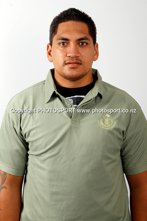 Kaine Manihira, New Zealand Maori rugby league headshots, Jetpark Hotel, Auckland. 14 October 2010. Photo: William booth/photosport.co.nz