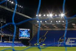 General View of the scoreboard inside Goodison Park - Photo mandatory by-line: Rogan Thomson/JMP - 07966 386802 - 03/12/2014 - SPORT - FOOTBALL - Liverpool, England - Goodison Park - Everton v Hull City - Barclays Premier League.
