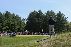 September 2, 2018 - Norton, Massachusetts, United States - Tiger Woods wait on the 8th green during the third round of the Dell Technologies Championship. (Credit Image: © Debby Wong/ZUMA Wire)