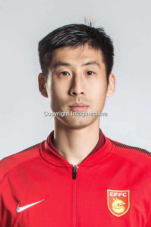 **EXCLUSIVE**Portrait of Chinese soccer player Lang Zheng of Hebei China Fortune F.C. for the 2018 Chinese Football Association Super League, in Marbella, Spain, 26 January 2018.