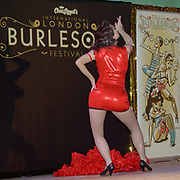 Trixie Blue,Newcastle preforms at the London Burlesque Festival - The Crown Jewels at Conway Hall on 19th May 2017, UK. by See