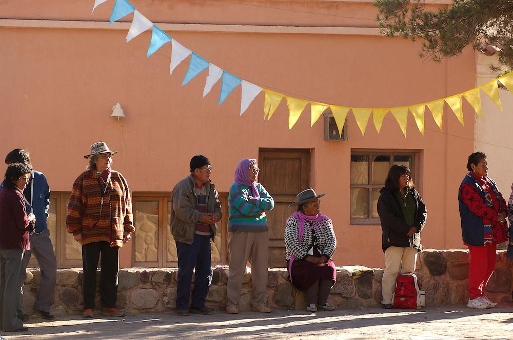 People, Easter, Holy week, Tilcara, Jujuy, Argentina, South America