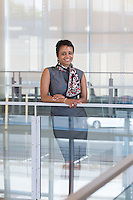 Dr. Noemi Custodia-Lora, executive director of Northern Essex Community College's Lawrence campus and community relations.           Photos by Mike Dean                  www.mikedeanphotos.com