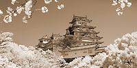 Apr. 06, 2010; Himeji, Japan - Himeji..infrared.