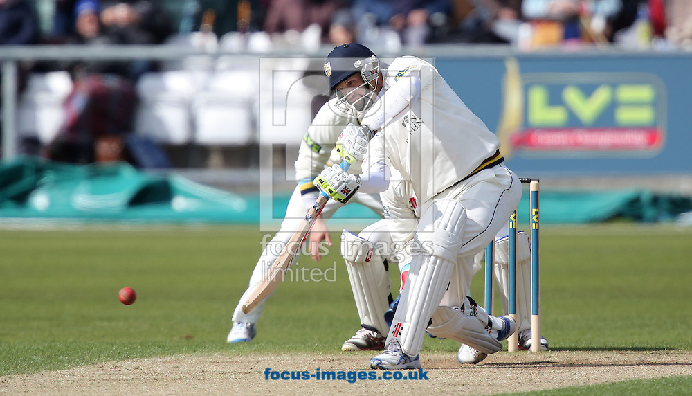 Picture by Paul Gaythorpe/Focus Images Ltd +447771 871632.26/04/2013.Dale Benkenstein of Durham County Cricket Club during the LV County Championship Div One match at Emirates Durham ICG, Chester-le-Street.