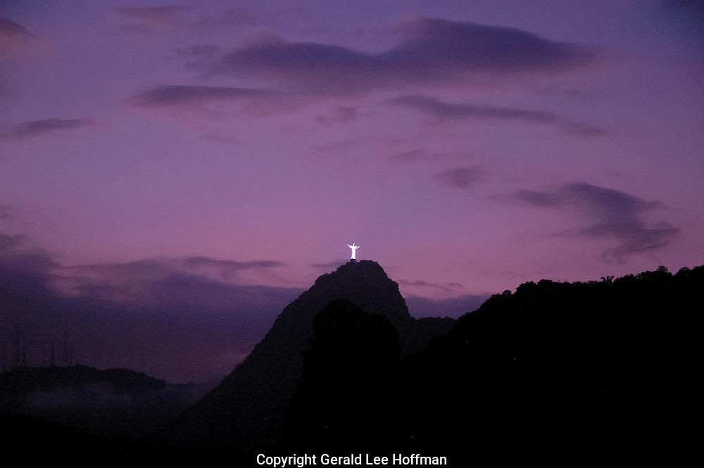 Corcovado Roxo sunset.