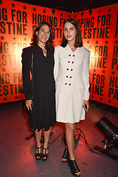 "Esther Freud and her daughter Anna Morrissey at ""Hoping For Palestine"" Benefit Concert For Palestinian Refugee Children held at The Roundhouse, Chalk Farm Road, England. 04 June 2018."