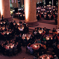 Undated gala dinner held in the Pension Building in Washington, DC.