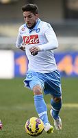 Dries Mertens Napoli <br /> Verona 01-02-2015 Stadio Bentegodi Football Calcio Serie A 2014/2015 Chievo Verona - Napoli foto Image Sport / Insidefoto