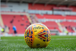 An official Mitre SkyBet League One football at Rotherham United's Aesseal New York Stadium - Mandatory by-line: Ryan Crockett/JMP - 18/11/2017 - FOOTBALL - Aesseal New York Stadium - Rotherham, England - Rotherham United v Shrewsbury Town - Sky Bet League One