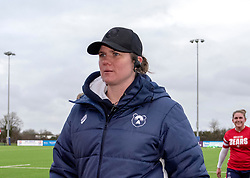 Bristol Bears Women head coach Kim Oliver - Mandatory by-line: Paul Knight/JMP - 19/01/2019 - RUGBY - Shaftesbury Park - Bristol, England - Bristol Bears Women v Worcester Valkyries - Tyrrells Premier 15s