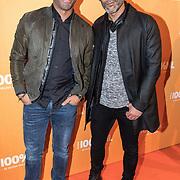 NLD/Amsterdam/20180220 - 100% NL Awards 2018, Urvin Monte en Ivo Chundro