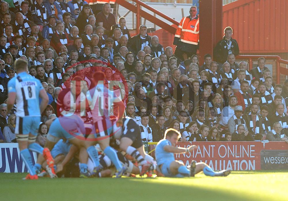 - Photo mandatory by-line: Joe Meredith/JMP - Mobile: 07966 386802 - 20/05/2015 - SPORT - Rugby - Bristol - Ashton Gate - Bristol Rugby v Worcester Warriors - Greene King IPA Championship - Play-Off Final
