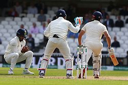 September 10, 2018 - London, England, United Kingdom - Keaton.L.Rahul of India.during International Specsavers Test Series 5th Test match Day Four  between England and India at Kia Oval  Ground, London, England on 10 Sept 2018. (Credit Image: © Action Foto Sport/NurPhoto/ZUMA Press)