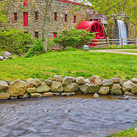 The Sudbury Grist Mill Museum in Sudbury Massachusetts photographed on a beautiful day displaying beautiful New England spring colors. Wayside Inn Grist Mill Massachusetts photography pictures are available as museum quality photo, canvas, acrylic, wood or metal prints. Wall art prints may be framed and matted to the individual liking and interior design decoration needs:<br /> <br /> https://juergen-roth.pixels.com/featured/massachusetts-spring-colors-at-the-sudbury-grist-mill-juergen-roth.html<br /> <br /> Good light and happy photo making!<br /> <br /> My best,<br /> <br /> Juergen