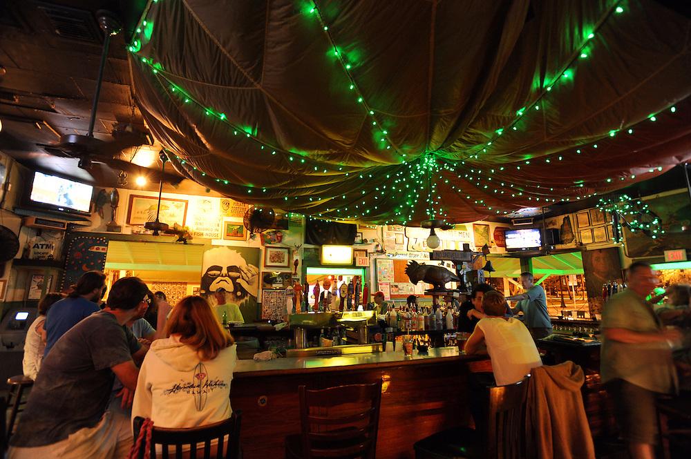 Green Parrot Bar, 601 Whitehead Street, Key West, FL 33040..Florida 2009..Foto © Stefan Falke.
