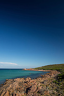 Myalup Beach And Coastline. Myalup, Western Australia, Australia. 13/02/2013. Photo By Lucas Wroe