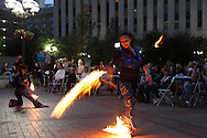 Soul Fire Tribe performs during the fall Urban Nights in downtown Dayton, Friday, September 14, 2012.