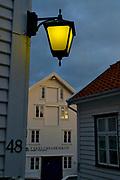 Old houses in Skudenes, Karmöy, Norway.