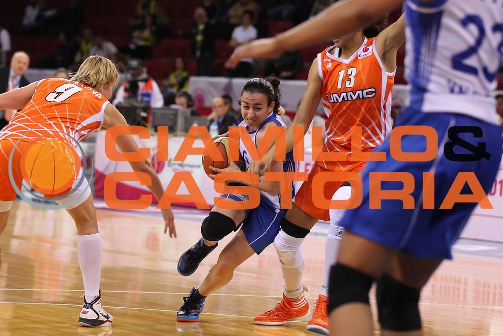 DESCRIZIONE : Istanbul Fiba Europe Euroleague Women 2011-2012 Final Eight Ros Casares Valencia UMMC Ekaterinburg<br /> GIOCATORE : Silvia Dominguez<br /> SQUADRA : Ros Casares Valencia<br /> EVENTO : Euroleague Women<br /> 2011-2012<br /> GARA : Ros Casares Valencia UMMC Ekaterinburg<br /> DATA : 28/03/2012<br /> CATEGORIA : <br /> SPORT : Pallacanestro <br /> AUTORE : Agenzia Ciamillo-Castoria/ElioCastoria<br /> Galleria : Fiba Europe Euroleague Women 2011-2012 Final Eight<br /> Fotonotizia : Istanbul Fiba Europe Euroleague Women 2011-2012 Final Eight Ros Casares Valencia UMMC Ekaterinburg<br /> Predefinita :