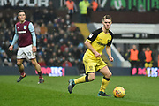 Burton Albion midfielder Jacob Davenport (19) makes his debut on loan from Manchester City during the EFL Sky Bet Championship match between Aston Villa and Burton Albion at Villa Park, Birmingham, England on 3 February 2018. Picture by Richard Holmes.