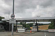 The German Swiss boarder crossing