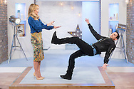 Dynamo and Amanda Holden - This Morning Live on ITV 25-09-2014.<br />