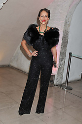 ANDREA DELLAL at a private view of 'Valentino: Master Of Couture' at Somerset House, London on 28th November 2012.