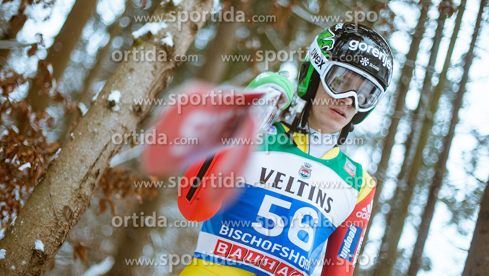 05.01.2015, Paul Ausserleitner Schanze, Bischofshofen, AUT, FIS Ski Sprung Weltcup, 63. Vierschanzentournee, Training, im Bild Matjaz Pungertar (SLO) // during Training of 63rd Four Hills <br /> Tournament of FIS Ski Jumping World Cup at the Paul Ausserleitner Schanze, Bischofshofen, Austria on 2015/01/05. EXPA Pictures &copy; 2015, PhotoCredit: EXPA/ JFK