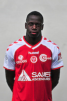 Omenuke Mfulu - 21.10.2014 - Photo officielle Reims - Ligue 1 2014/2015<br /> Photo : Philippe Le Brech / Icon Sport