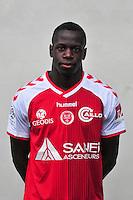 Omenuke Mfulu - 21.10.2014 - Photo officielle Reims - Ligue 1 2014/2015<br /> Photo : Philippe Le Brech / Icon Sport