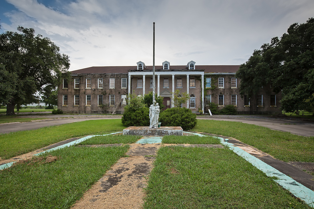 July 17, Eastern New Orleans, Home for boys, closed and abandoned since Hurricane Katrina in 2005.