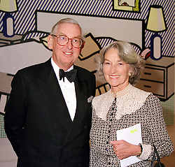 LORD & LADY SAINSBURY OF PRESTON CANDOVER <br /> at a dinner in London on 3rd May 2000.ODH 79