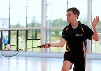 20 Aug 2016: Cathal Donovan, from Kerry. Badminton U15 Boys.   2016 Community Games National Festival 2016.  Athlone Institute of Technology, Athlone, Co. Westmeath. Picture: Caroline Quinn