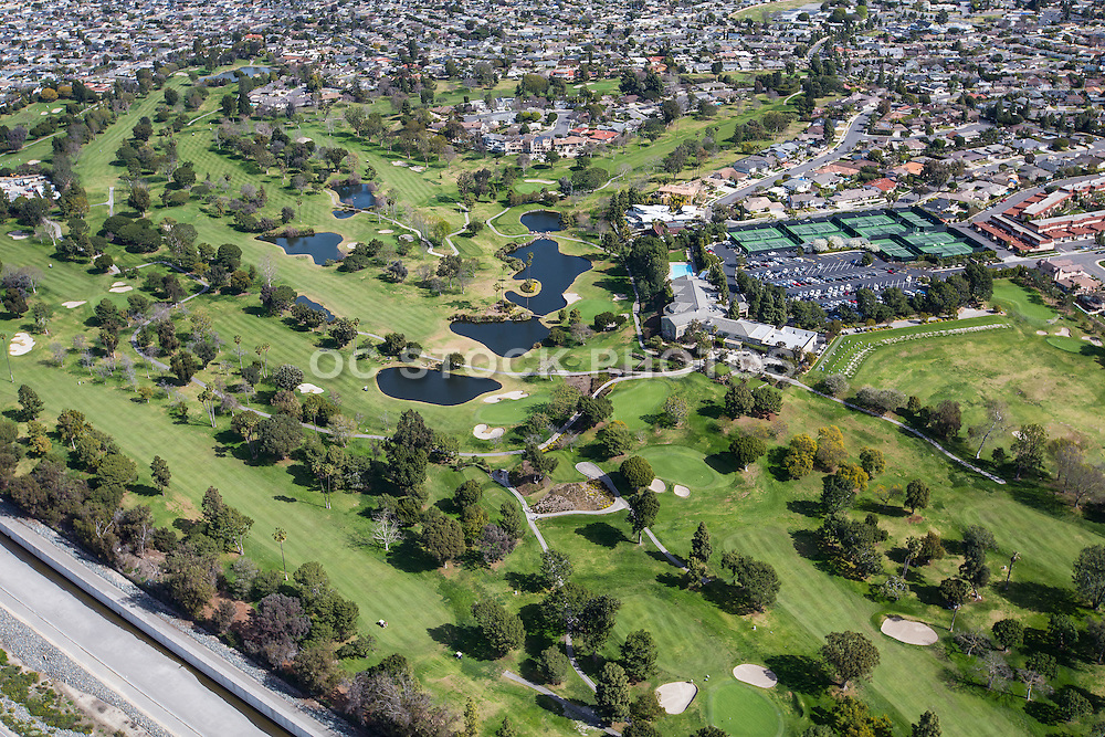 Aerial Stock Photo Of Mesa Verde Country Club Golf And Tennis