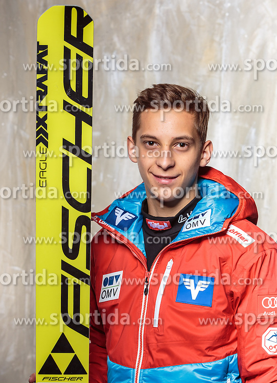 08.10.2016, Olympia Eisstadion, Innsbruck, AUT, OeSV Einkleidung Winterkollektion, Portraits 2016, im Bild Dominik Schwei, Skisprung, Herren // during the Outfitting of the Ski Austria Winter Collection and official Portrait Photoshooting at the Olympia Eisstadion in Innsbruck, Austria on 2016/10/08. EXPA Pictures © 2016, PhotoCredit: EXPA/ JFK