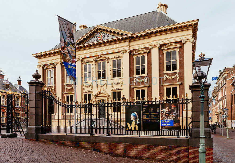 The Mauritshuis museum in The Hague, the Netherlands on February 15, 2018