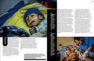 """XL SEMANAL MAGAZINE, """"El Espanto de los Hospitales de Maduro"""" by Jens Glüsing. September 2018"""