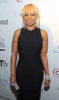 Mary J Blige at the BET Inaugural Gala, held at the Mandarin Oriental Hotel in Washington, DC