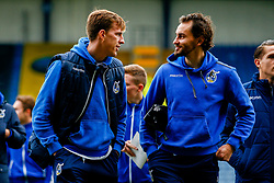 Joe Partington of Bristol Rovers and Edward Upson of Bristol Rovers arrives at Kassam Stadium prior to kick off - Mandatory by-line: Ryan Hiscott/JMP - 29/12/2018 - FOOTBALL - Kassam Stadium - Oxford, England - Oxford United v Bristol Rovers - Sky Bet League One