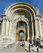 Entrance to the Petit Palais, Paris