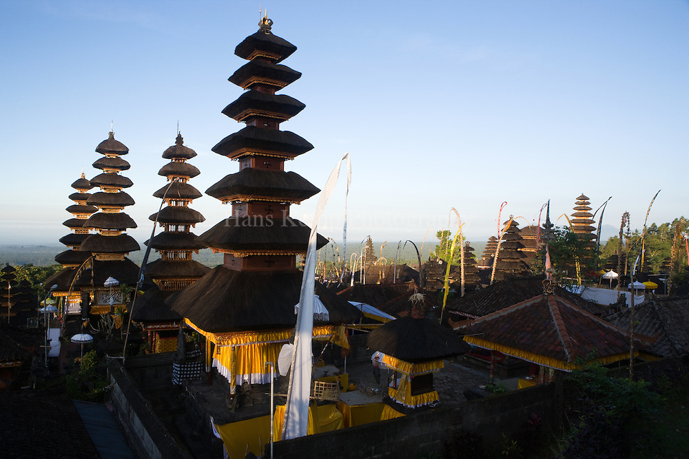 The Pura Besakih Temple on Bali