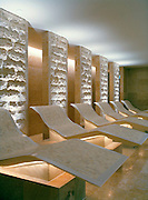 The Oriental Spa. Tepidarium Chairs adapted from Roman times, are heated to 37ºC, warming all parts of the body equally.