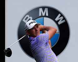 May 25, 2017 - Virginia Water, United Kingdom - Matt Wallace of England during 1st Round for the 2017 BMW PGA Championship on the west Course at Wentworth on May 25, 2017 in Virginia Water,England  (Credit Image: © Kieran Galvin/NurPhoto via ZUMA Press)