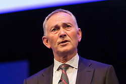 © Licensed to London News Pictures. 06/10/2015. London, UK. CEO of Premiere Leagure, RICHARD SCUDAMORE speaks at the Institute of Directors (IoD) Annual Convention 2015, held at the Royal Albert Hall in London. Photo credit : Vickie Flores/LNP