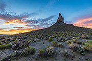 The Boar's Tusk in the Red Desert of Wyomng