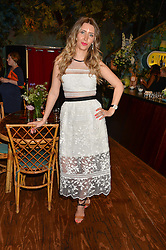 ANNA GRACE-DAVIDSON at a tea party to launch Grace Guru held at Sketch, 9 Conduit Street, London on 17th June 2015.